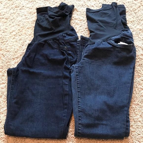 Indigo Blue Denim - Indigo Blue Maternity Jeans